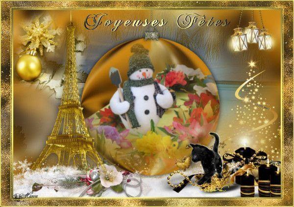 10 les cartes de noel fin annee for Decoration fete de fin d annee